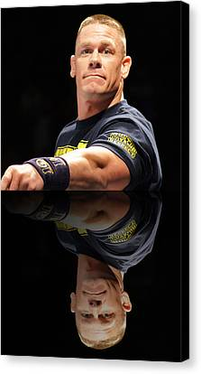 John Cena Reflection Canvas Print by Paul  Wilford