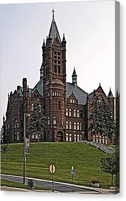 John Crouse Memorial College For Women Canvas Print