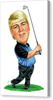 John Daly Canvas Print