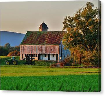 John Deere Green Canvas Print