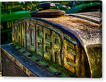 Canvas Print featuring the photograph John Deere by Jay Stockhaus