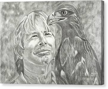 John Denver And Friend Canvas Print