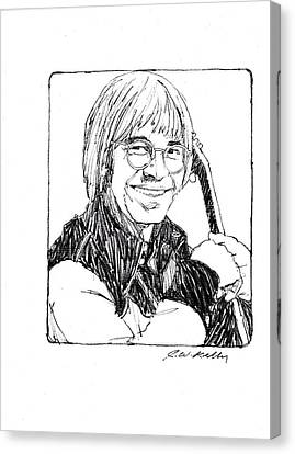John Denver Canvas Print by J W Kelly