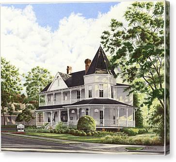 John Dunn House Ocala Florida Canvas Print by Richard Devine