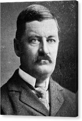 Pillsbury Canvas Print - John Elliott Pillsbury (1846-1919) by Granger