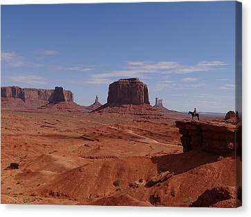 John Ford's Point In Monument Valley Canvas Print by Keith Stokes