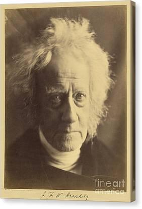 John Frederick William Herschel 1867 Canvas Print by Getty Research Institute