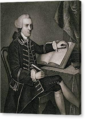 John Hancock Canvas Print