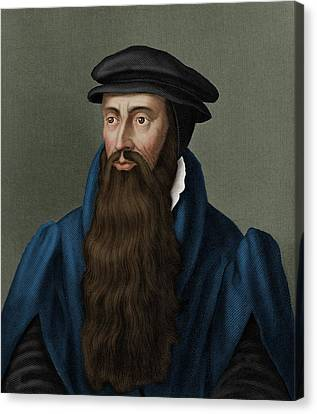 John Knox Canvas Print by Maria Platt-evans