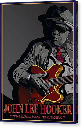 John Lee Hooker Canvas Print by Larry Butterworth