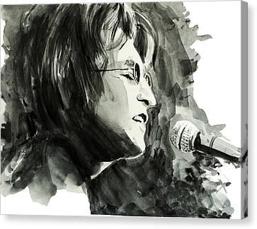 John Lennon 2 Canvas Print by Bekim Art