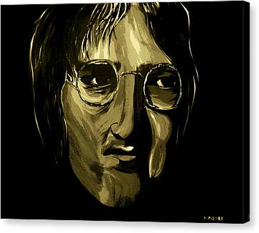 John Lennon 4 Canvas Print by Mark Moore