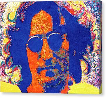 John Lennon Canvas Print by Barry Novis
