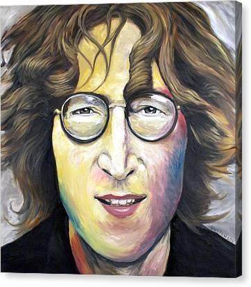 John Lennon Imagine Canvas Print