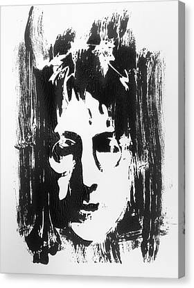 John Lennon Canvas Print by Leah Price
