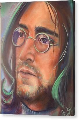 John Lennon Canvas Print by Mark Anthony