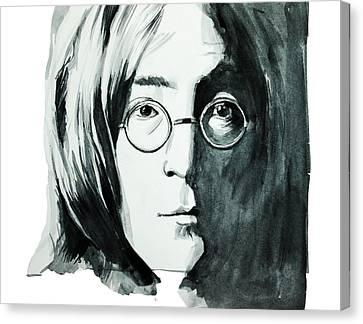 John Lennon Canvas Print by Bekim Art