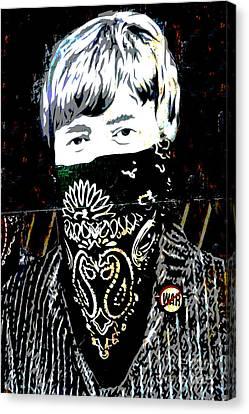 John Lennon Canvas Print by RicardMN Photography