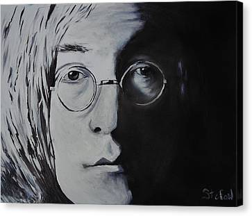 John Lennon Canvas Print by Stefon Marc Brown
