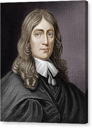 John Milton (1608-1674) Canvas Print