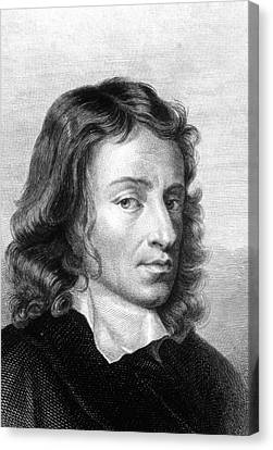 John Milton Canvas Print by Collection Abecasis