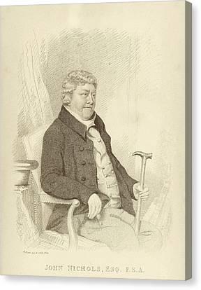 John Nichols Canvas Print