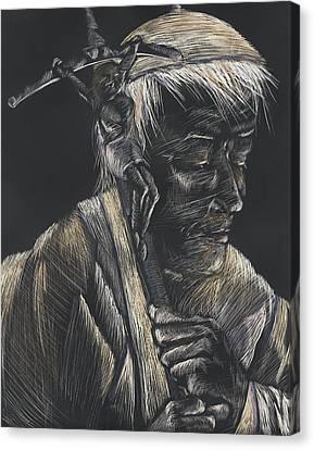 John Paul II Canvas Print by Michelle Miller