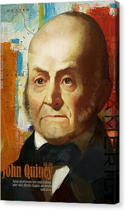 John Quincy Adams Canvas Print by Corporate Art Task Force
