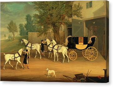 John Smith Barry's Private Drag And Grey Team John Smith Canvas Print by Litz Collection