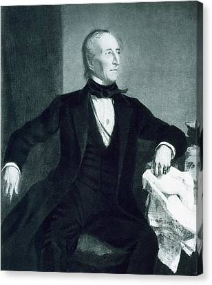 John Tyler Canvas Print by George Healy