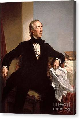 John Tyler Canvas Print by GPA Healy