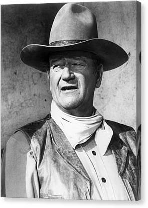 John Wayne In Rio Lobo  Canvas Print by Silver Screen