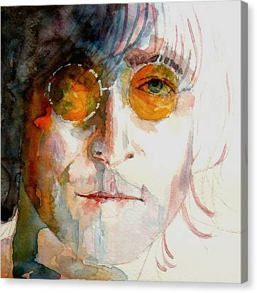 John Winston Lennon Canvas Print by Paul Lovering