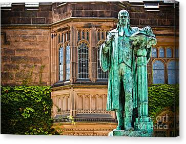 John Witherspoon - Statue Canvas Print by Colleen Kammerer