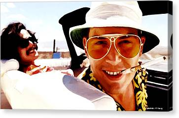 Johnny Depp @ Fear And Loathing In Las Vegas Canvas Print