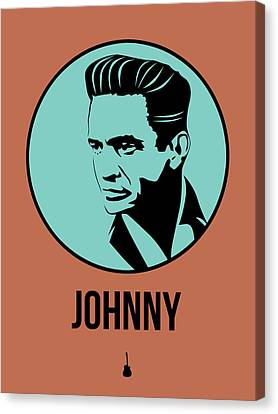 Johnny Poster 1 Canvas Print by Naxart Studio