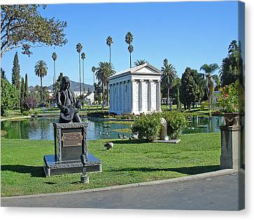 Johnny Ramone - Hollywood Forever Canvas Print