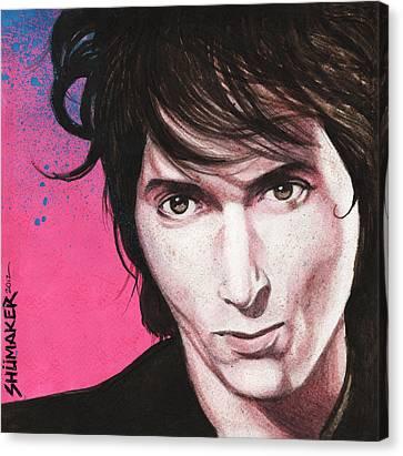Johnny Thunders Canvas Print by David Shumate