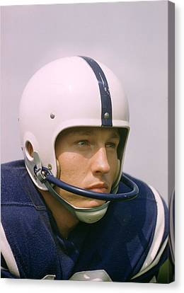 Johnny Unitas  Canvas Print by Retro Images Archive