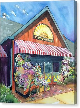 Johnson's Corner Farm Medford Nj Canvas Print by Diane Wallace