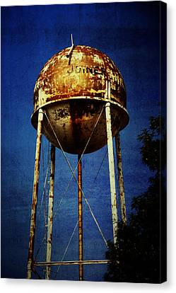Joiner Water Tower Canvas Print by KayeCee Spain