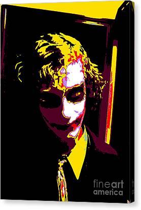 Joker 10 Canvas Print by Alys Caviness-Gober