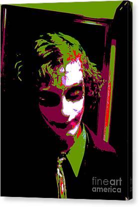 Joker 8 Canvas Print by Alys Caviness-Gober