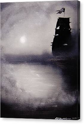 Jolly Roger Canvas Print by Eugene Budden