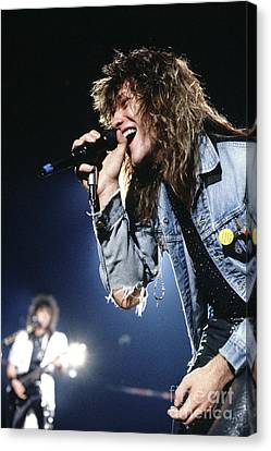 Bon Jovi '87 #1 Canvas Print by Chris Deutsch