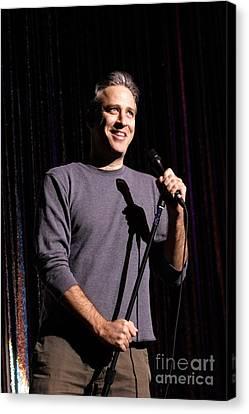 Comedian Jon Stewart Canvas Print by Concert Photos