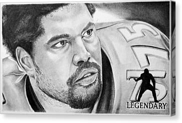 Jonathan Ogden Canvas Print by Don Medina