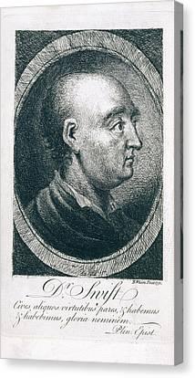 Jonathan Swift Canvas Print