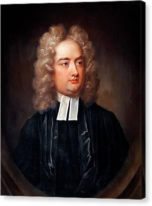 Jonathan Swift By Charles Jervas Canvas Print