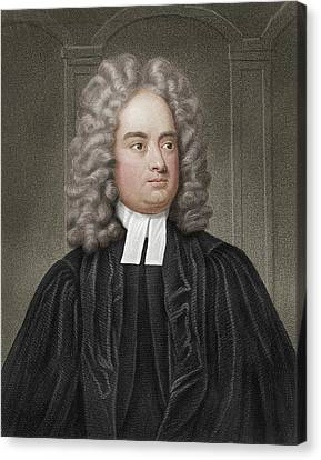 Jonathan Swift Canvas Print by Maria Platt-evans